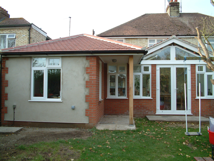 Semi Detached House After Added Ground Floor Extension